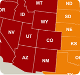 Western U.S. Moves