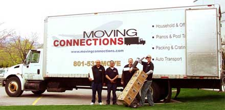 Moving Connections Movers and Truck