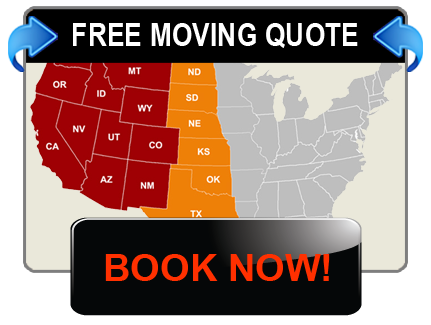 Western U.S. Moving Service Areas